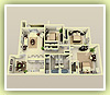 3bd 1320 sq ft - 3D Plan Schema