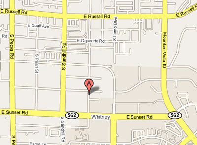 Click to show Mesa Verde Apartments on Google Map